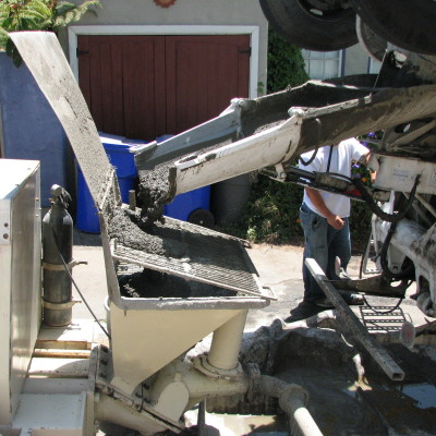 Perimter-Pump for Concrete
