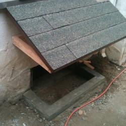 Crawlhole shed