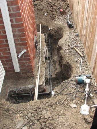 Chimney Underpin Craftsman Foundation Repair