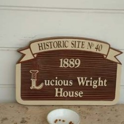 Historic Lucious Wright House